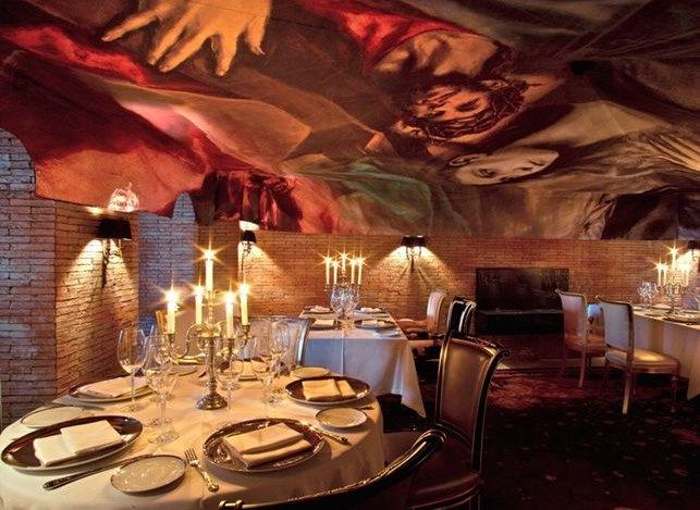 Restaurant design in miami wallcovering wallpaper