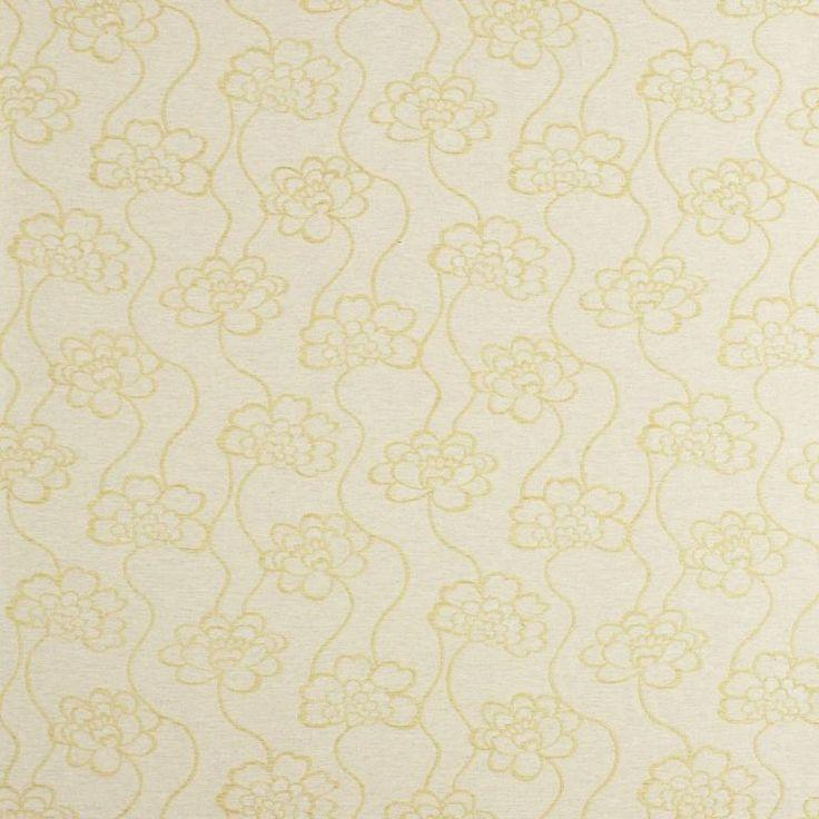 Warwick Fabrics : DAHLIA, Colour ACACIA