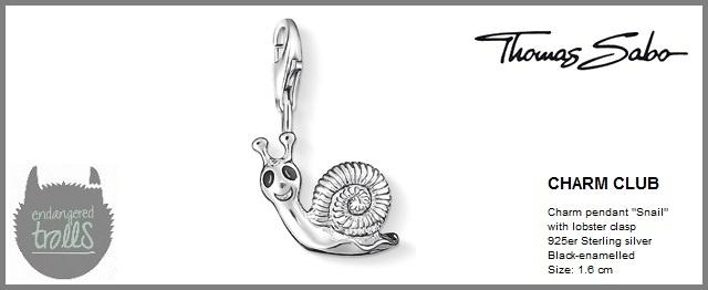 Thomas Sabo Fall 2012 - The Charm Club - Snail - http://www.endangeredtrolls.com/thomas-sabo-fall-2012-charms-2/#