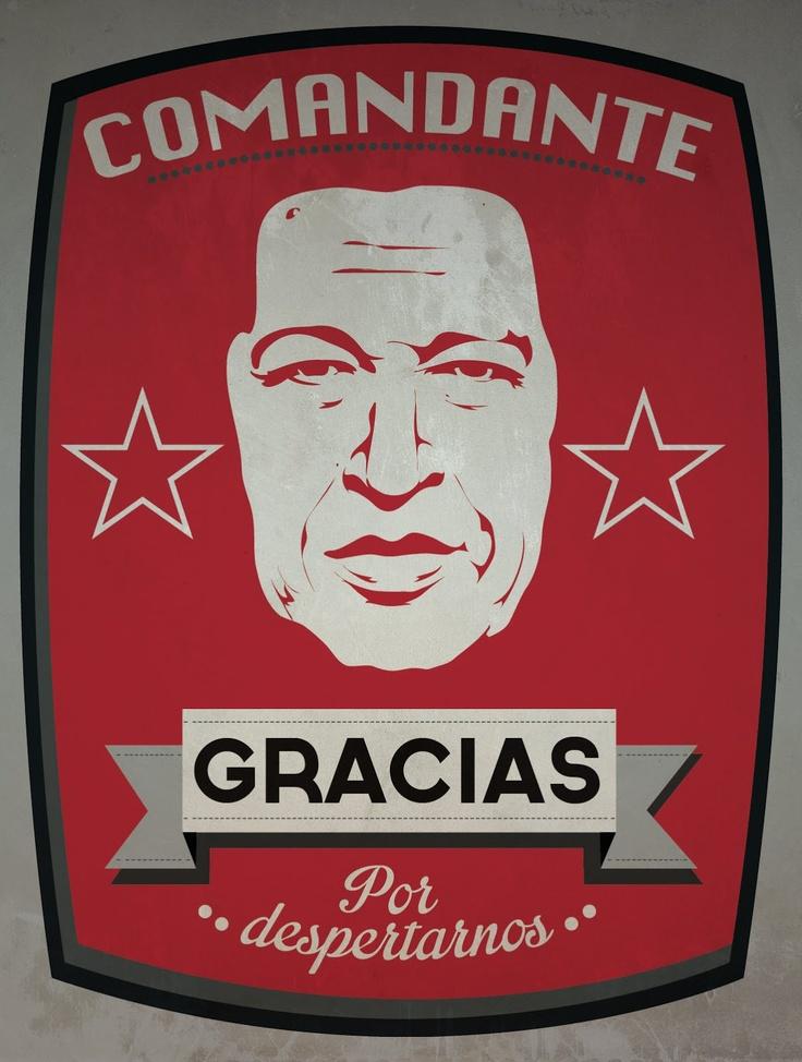 Hugo Chavez - Gracias Comandante. Hasta la Victoria siempre!