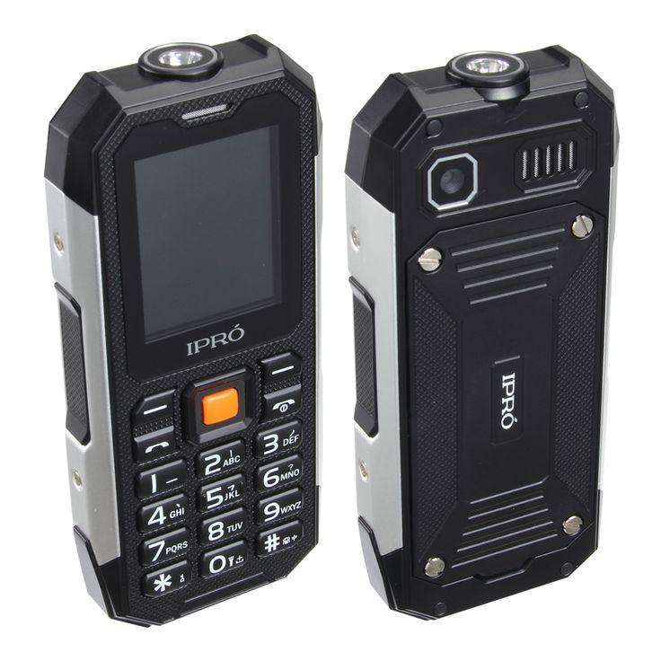 2017 New Ipro Waterproof Dustproof Shockproof Rugged Cell Phone I3208 Unlocked Mobile Dual Sim 2500