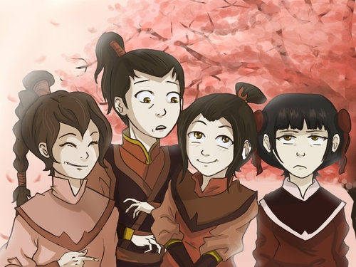 Ty Lee, Zuko, Azula, and Mai | Avatar: The Last Airbender ...