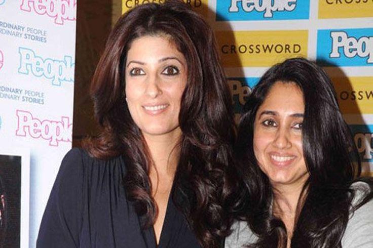 Twinkle Khanna and Rinke Khanna
