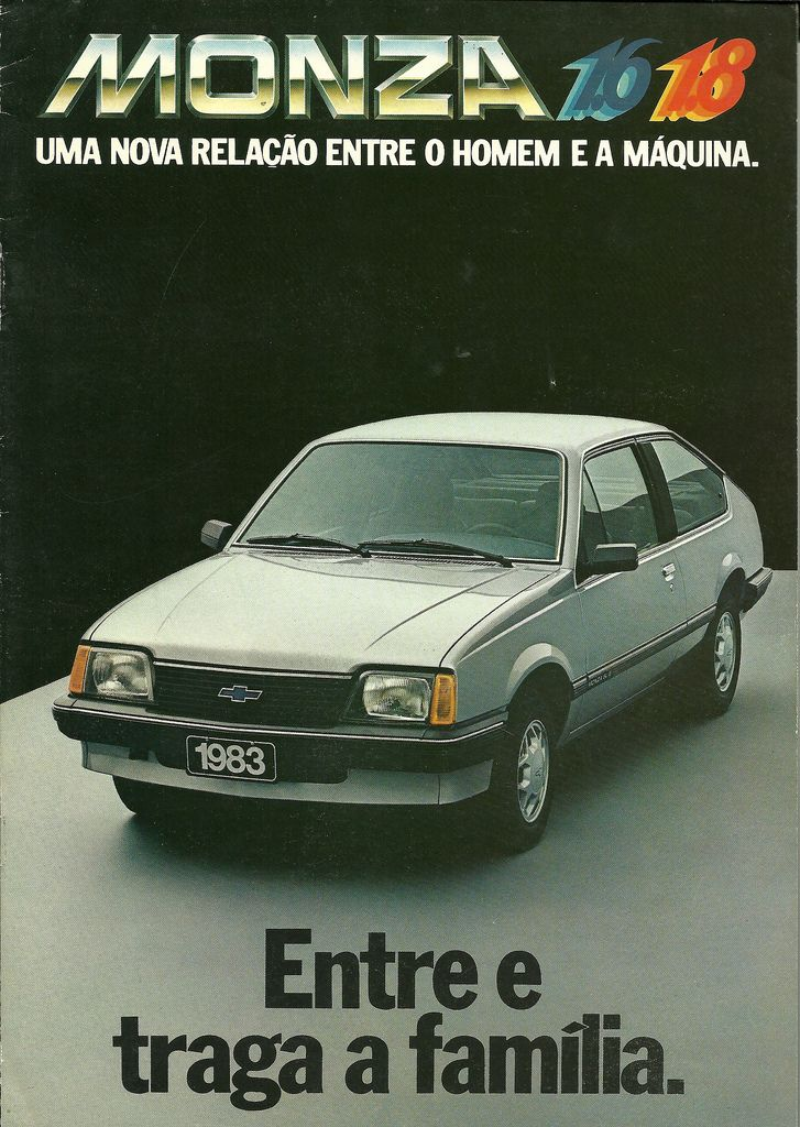 Chevrolet Monza - Brasil - brochure (1983)