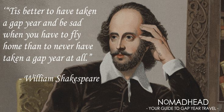 Wise words from William Shakespeare. Maybe.