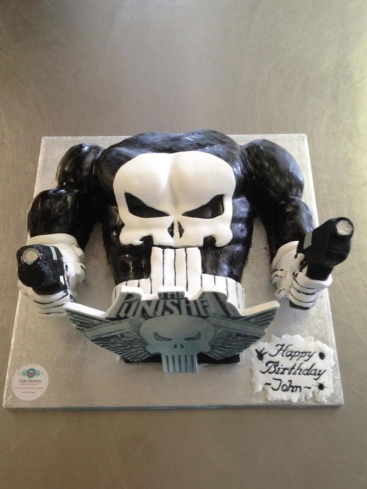 Marvel The Punisher Cake Topper
