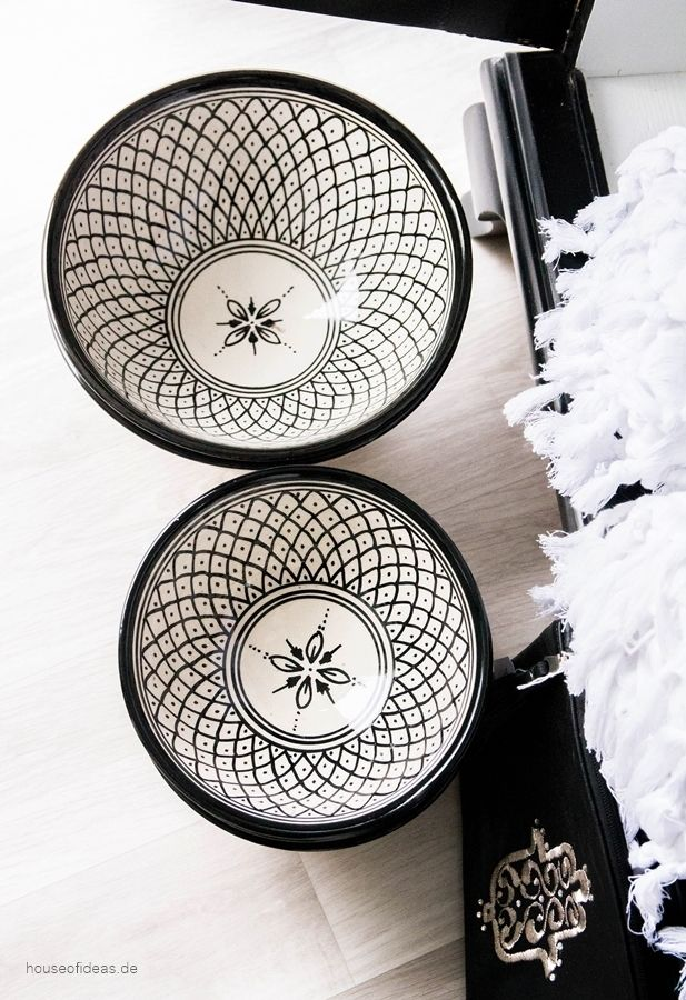 ***Moroccan dish shaft black & 47 best Black u0026 White Dishes images on Pinterest | White dinnerware ...