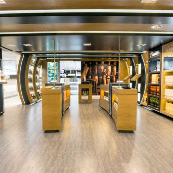 William Grant and Sons and Viking Line have announced the opening of Whisky Emporium, situated within the largest floating tax-free shop onboard new ship Viking Grace.