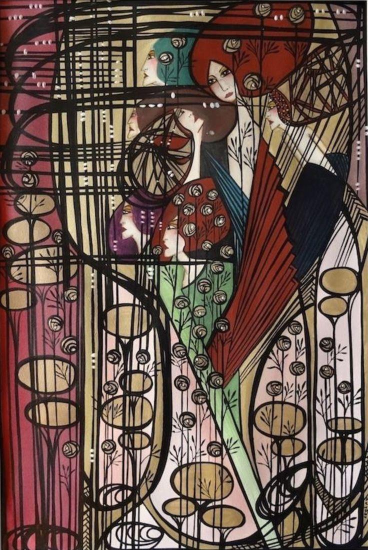 Some colour for sale!   Leyla Salm - Art & Design