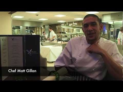 Michelin starred chef Matt Gillan talks about his tasting menu at The Pass Restaurant. We supply Matt with the pumpkin oil uses and talks about ;)