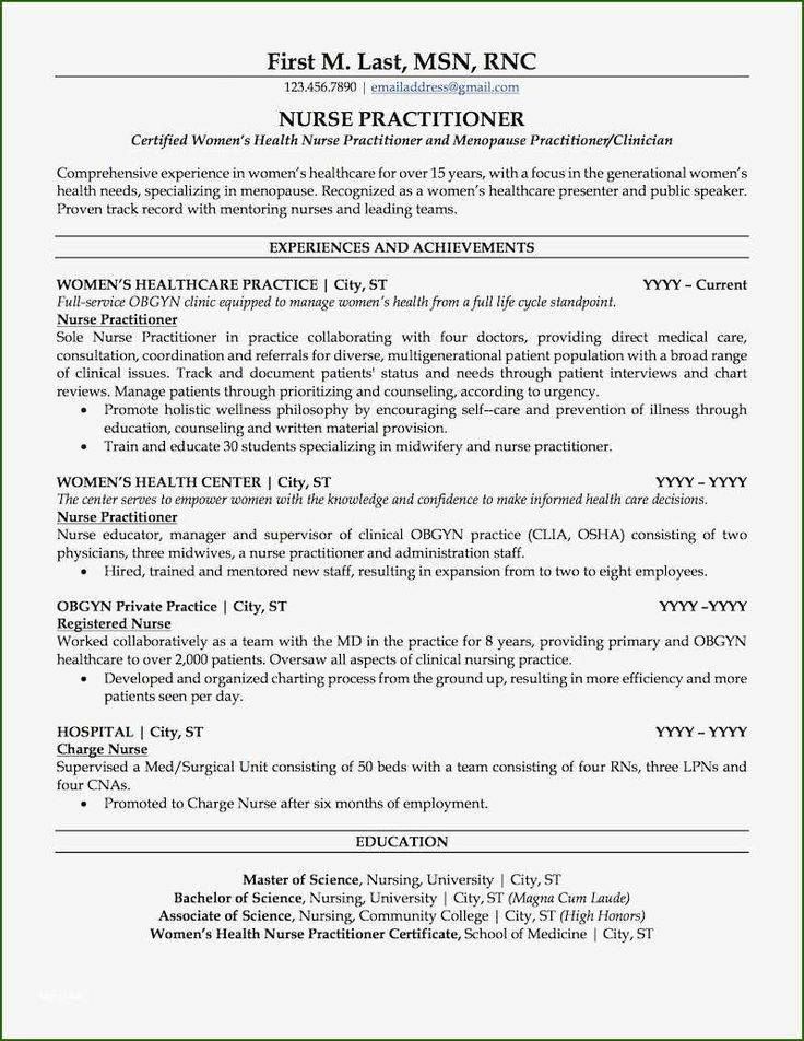 nurse practitioner resume template 14 help that prove
