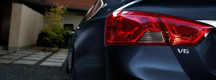 Rear light on the 2016 Impala.