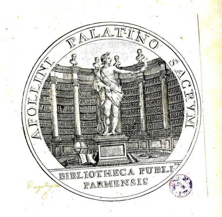 Biblioteca Palatina (Parme, Italie) #Bibliothèque