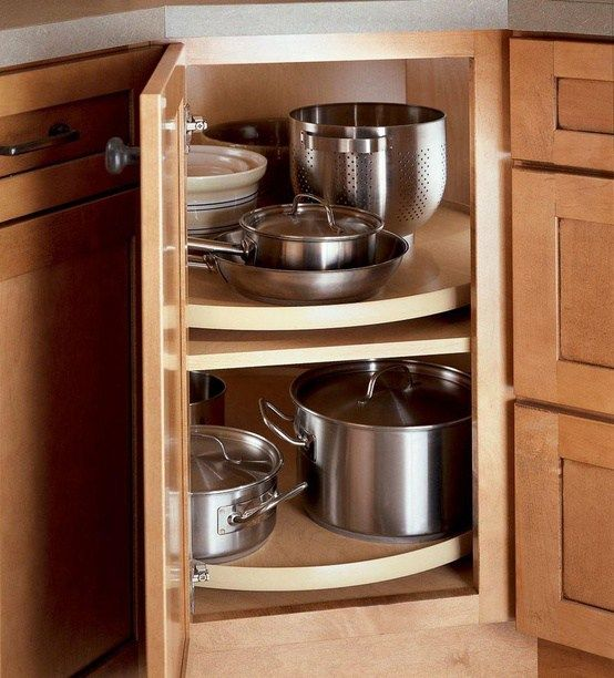 How to deal with the blind corner kitchen cabinet live Kitchen cabinet organization systems