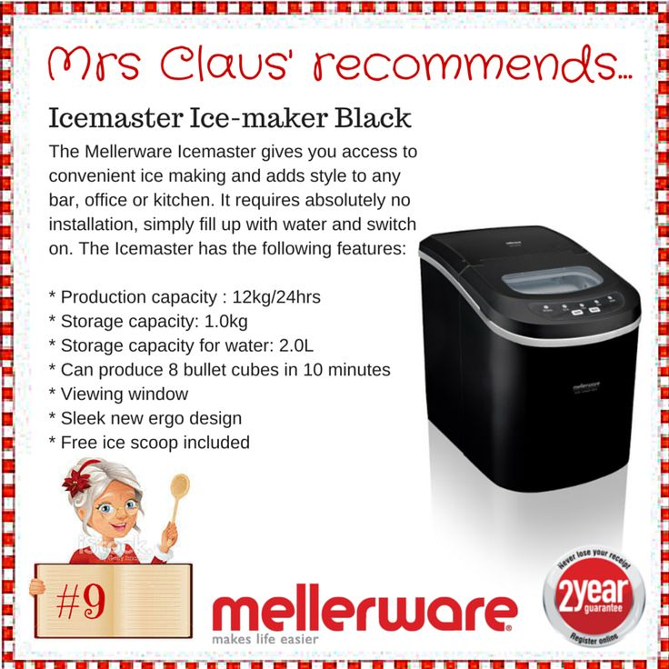 Day 9 - Icemaster Ice Maker