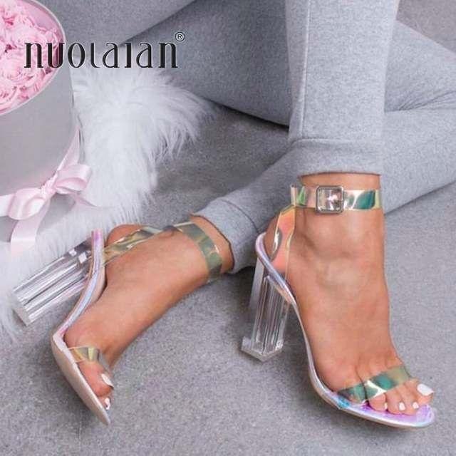 Online Shop 2019 Women Sandals Shoes Celebrity Wearing