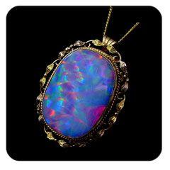 antique opal