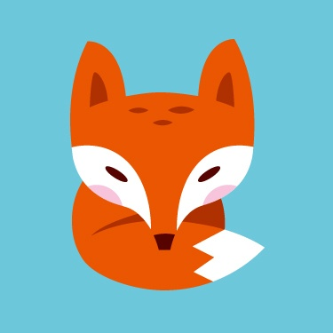 ~The Little Fox Badge~