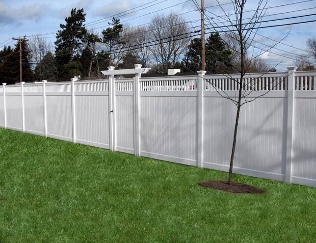 Vinyl Privacy Fence | Atlantic Fence Supply