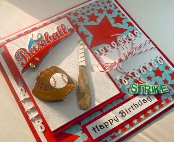 25 best baseball themed birthday card images on Pinterest