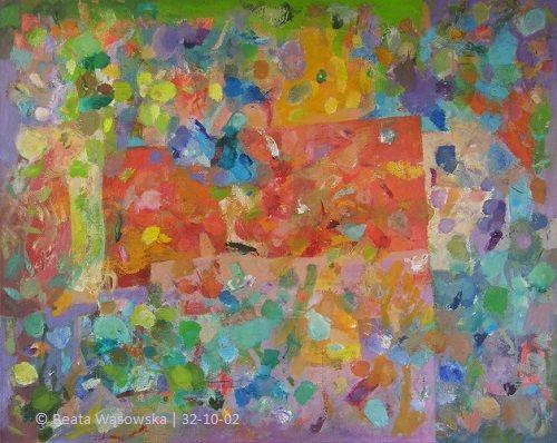 Diament, Beata Wąsowska, 80x100, olej na płótnie, nr kat. 32-10-02