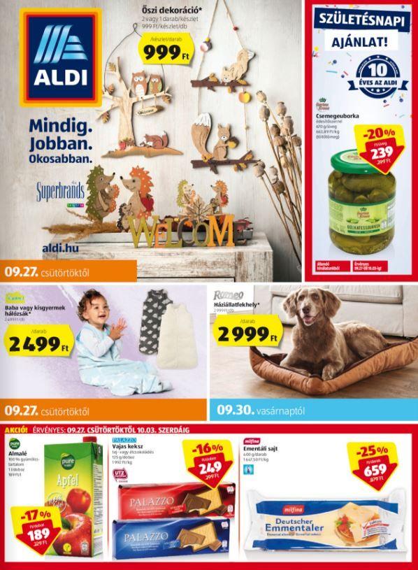 ALDI Akciós Újság 2018. 09.27-10.03-ig  Őszi dekoráció 7a995bec74