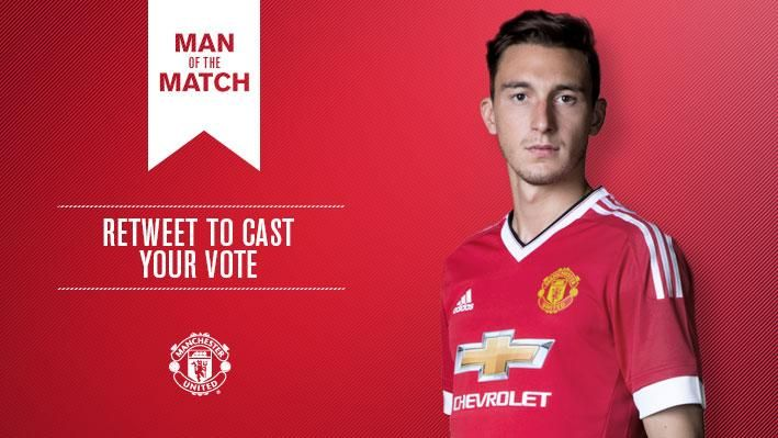 Retweet to vote for Matteo Darmian as #mufc's Man of the Match v Tottenham.