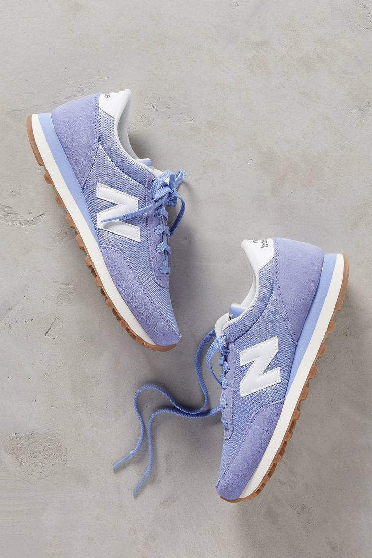 New Balance WL501 Suede Sneakers