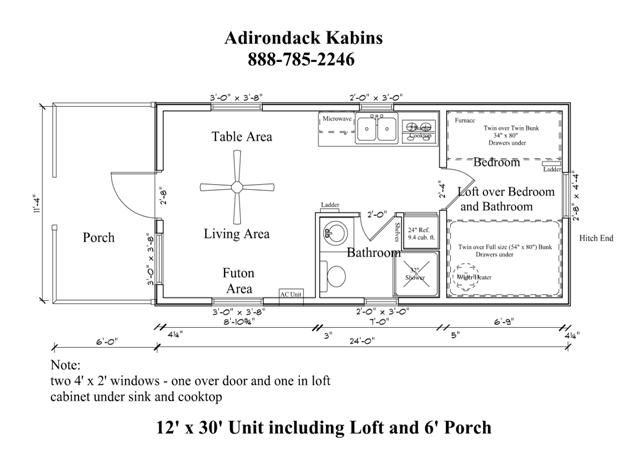 12 39 X 30 39 Floor Plan Tiny House Pinterest House