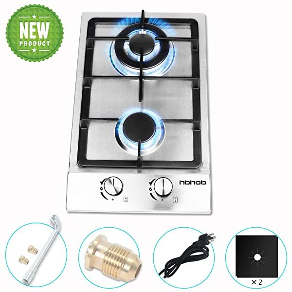 Viking Vgrt548 4gq 48 Inch Professional Series Natural Gas Cooktop With 4 Burners And Grill Griddle Stainless Steel Revi In 2020 Viking Range Kitchen Stove Gas Cooktop