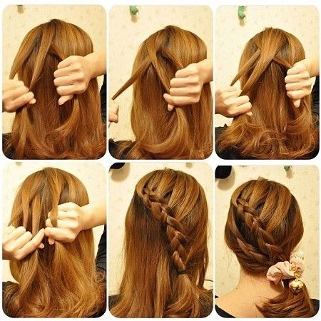 Simple and quick hairstyles that looks cute and presentable. #hairplusbase #hairstyles #tutorials