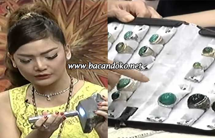 Batu Bacan Koleksi Artis Irma Darmawangsa