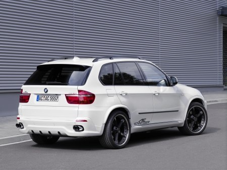 BMW X5. When I'm a mommy, I'll have my hubby buy me this to haul the kids around in ;)