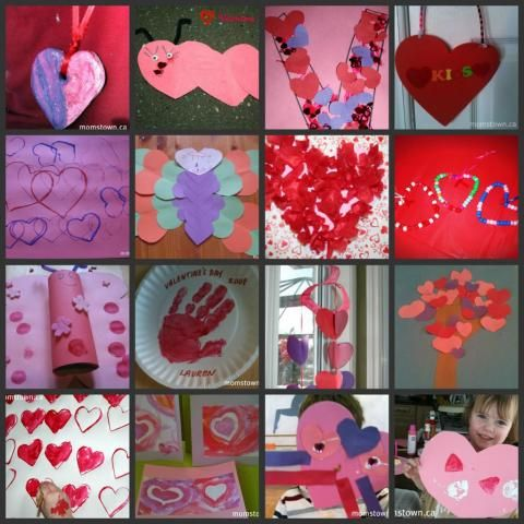16 #Valentine crafts for kids - perfect for winter days inside