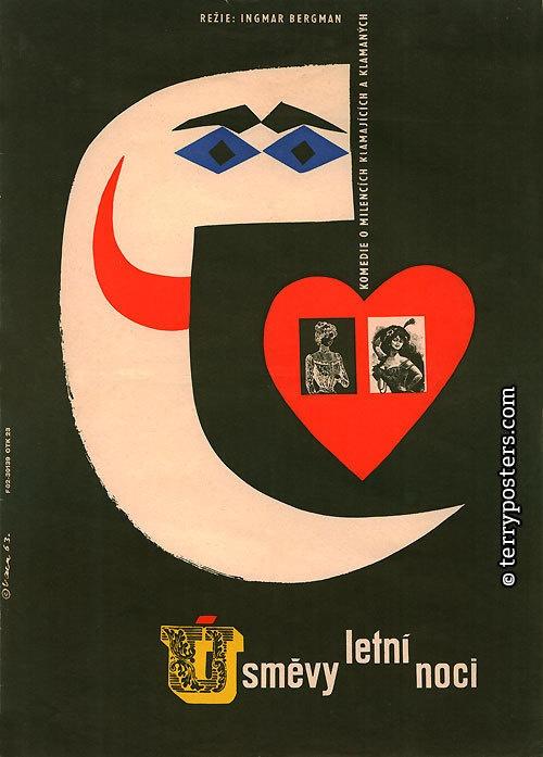 By Czech artist and designer Karel Vaca (1919-1989).
