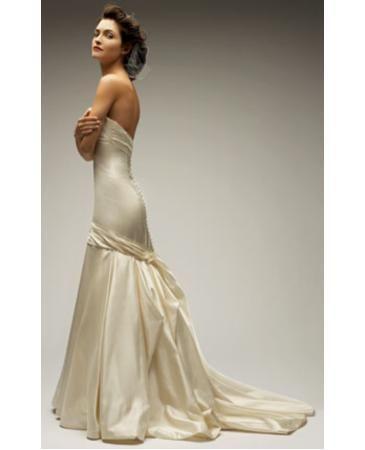Robe de mariée Melissa sweet Lia en satin de duchesse
