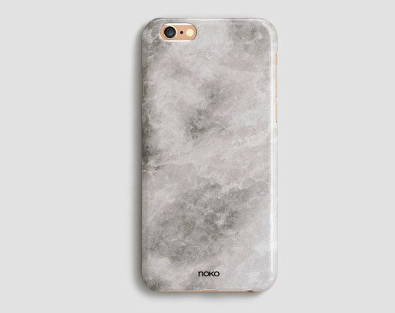 DESCRIPTION: NOKO Marble Effect iPhone 6 /6S & Plus Case  Designed in Italy - Made in USA  The case is made of transparent polycarbonate plastic