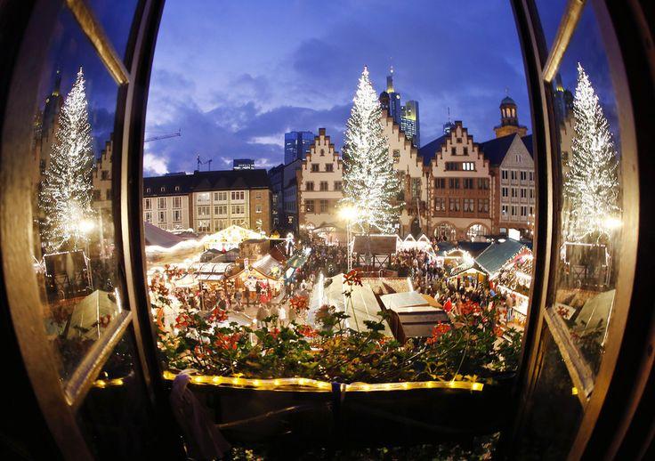 Francfort, Allemagne. | 24 marchés de Noël à visiter avant de mourir