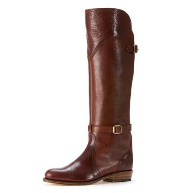 I want to jump on the riding boots trend, These aare Frye boots, $498, yikes!