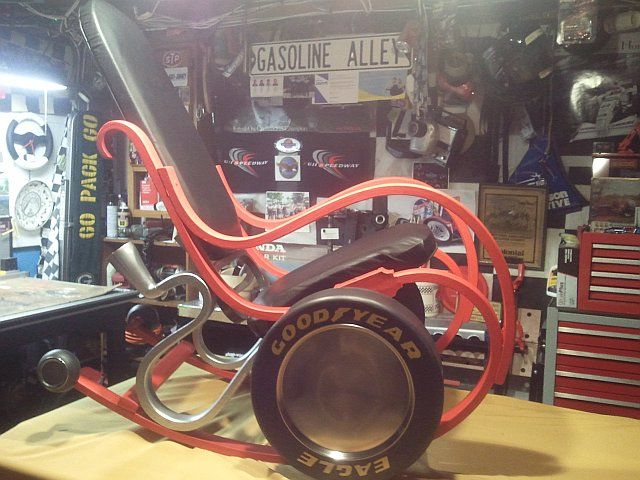 29 best trust me im an engineer images on pinterest trust the rocking chair my dad upcycled yes it does have dual exhaust perfect for fandeluxe Choice Image