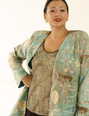 Plus Size Special Occasion Jacket Cheetah Print Swarovski Aqua Gold  SHOP NOW: Unique jackets for women Sizes 14 - 36, plus size special occasion jackets, mother of the bride jacket dress, artwear, elegant, unique women's clothing,xoPeg #plussizesale #PeggyLutzPlus #PlusSize #style #plussizestyle #plussizeclothing #plussizefashion #womenstyle #womanstyle #womanfashion #holidaysale #holidaystyle #springstyle #springfashion #springformal  #coats #style #couture #elegantwoman #divastyle