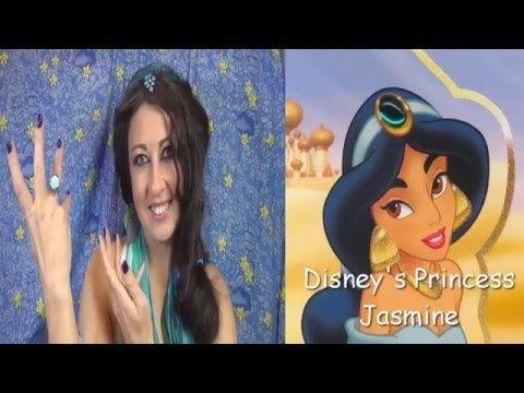 Princess Jasmine Hairstyle Tutorial|Disney's Look|Blogger HelenLin