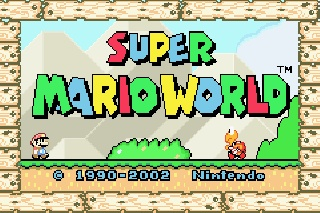 Super Mario World was the stuff. I played this game a zillion times when I was a kid.