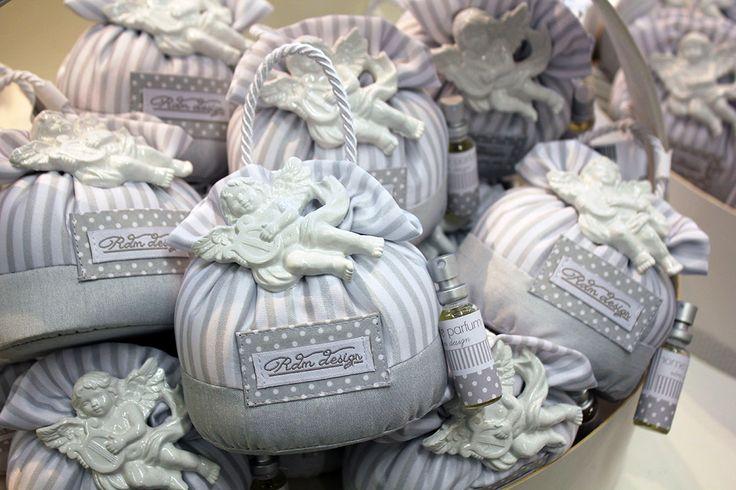 #bomboniere RDM design con angeli e profumo adatte a tutti i tipi di cerimonie.