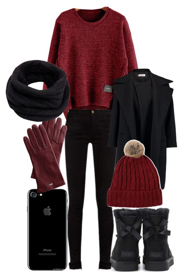 """""""Tenue n°16"""" by vava-creatrice on Polyvore featuring UGG, Gucci, Jil Sander, C-LECTIVE, Mark & Graham and Helmut Lang"""