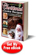 Christmas Cookie Recipes:  9 Christmas Cookie Recipes for Hosting a Christmas Cookie Exchange Party FREE eCookbook
