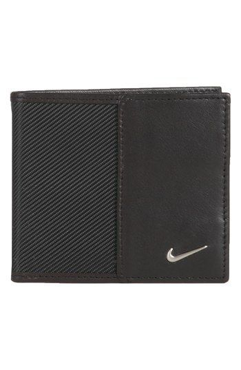 b7a4da371e Men's Nike Leather Wallet - Black #walletsnike | Wallets in 2019 ...
