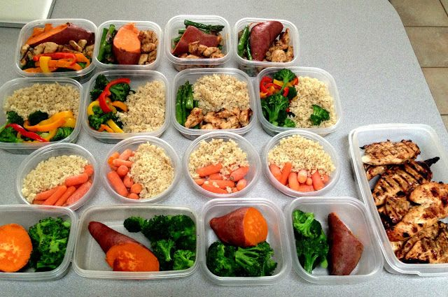 Always found it easier to make these up on the weekends, making it easy to eat clean all week! meal prep ideas