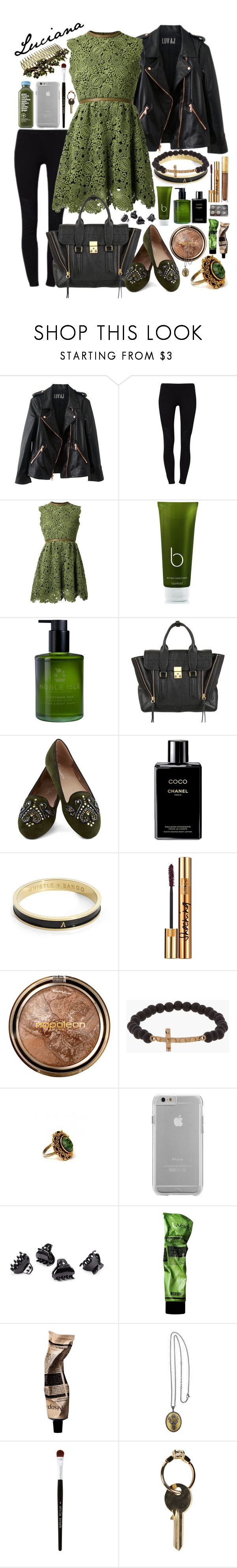 """Night out - Saturday, January 1st"" by business-casual ❤ liked on Polyvore featuring Rosegold, even&odd, Valentino, Bamford, Noble Isle, 3.1 Phillip Lim, Chanel, Estée Lauder, Whistle & Bango and Napoleon Perdis"