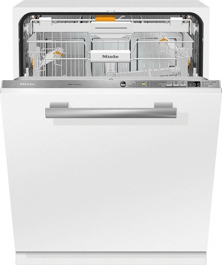 Miele G6665SCVI Fully Integrated Dishwasher with 3D+ Cutlery Tray, QuickIntenseWash, AutoSensor Technology, Water Softener, AutoOpen Drying, ComfortClose, China & Crystal Cycle, Silence Rating of 45 dBA, 16 Place Setting Capacity and ENERGY STAR®: Panel Ready